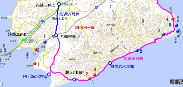 地図 南淡路水仙ライン(上り).png
